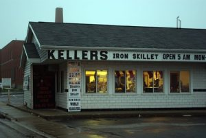 Kellers Iron Skillet and Catering at dawn.